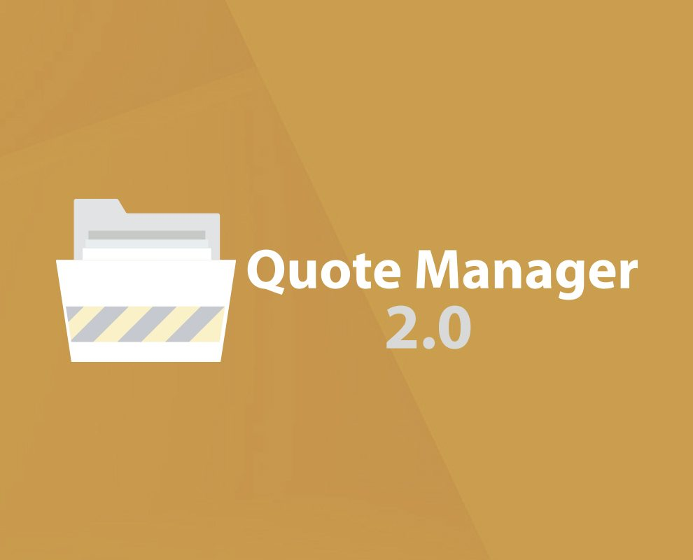 Quote Manager 2.0