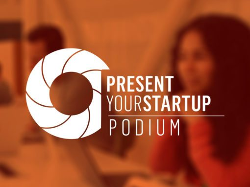 Podium from Present Your Start Up
